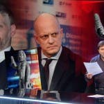 Report, Alessandro Giuli vs Sigfrido Ranucci