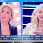Barbara D'Urso e la Marchesa D'Aragona