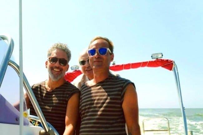 Beppe Fiorello e Gianfranco Franciosi
