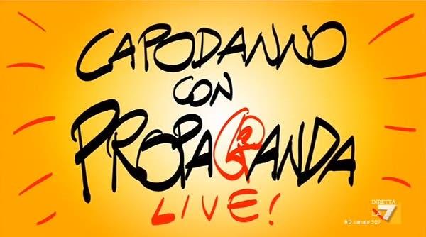 La7 si accende a «Capodanno con Propaganda Live»