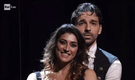 Elisa Isoardi e Raimondo Todaro