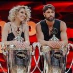 Gilles Rocca con Lucrezia Lando