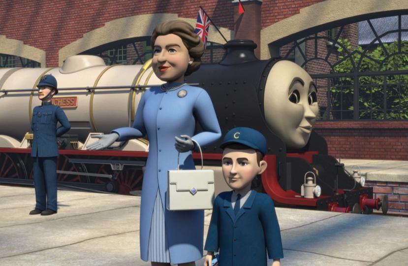 Il Trenino Thomas - La Regina Elisabetta e Carlo d'Inghilterra