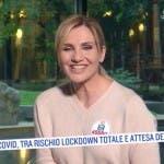Lorella Cuccarini a Oggi è un altro Giorno