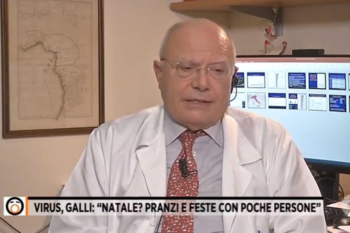 Massimo Galli uno e bino. Il professore va in onda contemporaneamente su Rai3 e Rete4