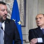 Matteo Salvini, Silvio Berlusconi