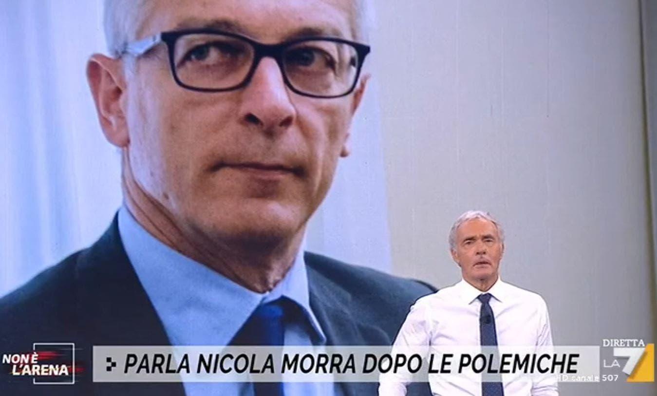 Non è L'Arena |  Nicola Morra commenta la propria esclusione dalla Rai |  «Errore formidabile |  vicenda assai triste» – Video
