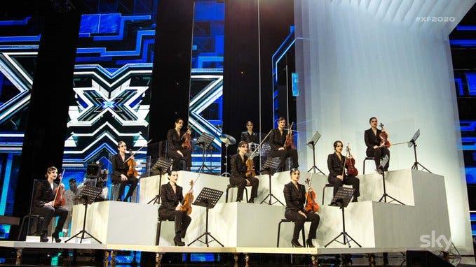 Orchestra di sole donne a X Factor 2020