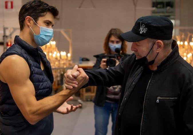 Danza con me 2021: Vasco Rossi ospite di Roberto Bolle