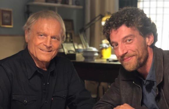Terence Hill e Maurizio Lastrico