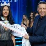 Alessandro Greco con Carolina Stramare, Miss Italia 2019