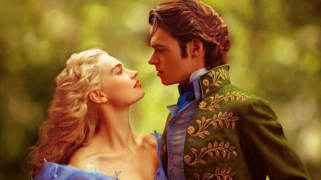 Cenerentola - Lily James e Richard Madden