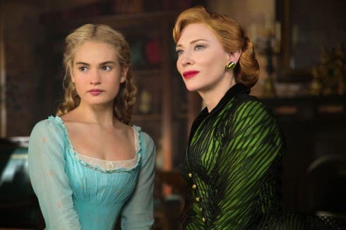Lily James e Cate Blanchett in Cenerentola