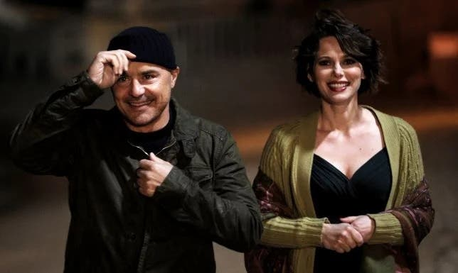 Luca Zingaretti e Barbora Bobulova