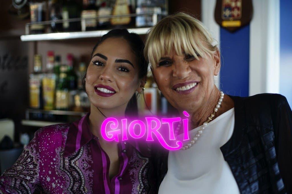 Gemma Galgani e Giulia De Lellis in Giortì