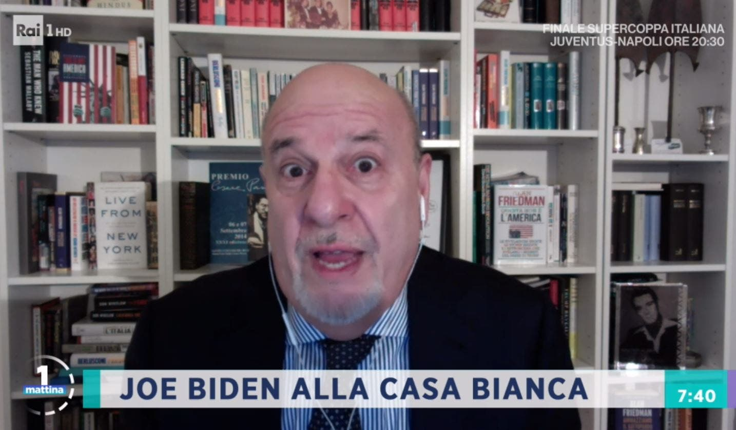 UnoMattina, Alan Friedman senza ritegno: «Melania escort di Donald Trump» – Video