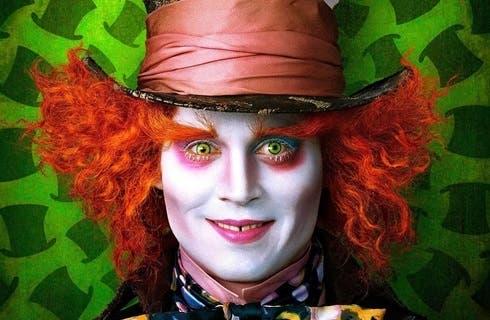 Iohnny Depp in Alice in Wonderland