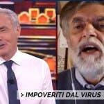 Non è L'Arena, Massimo Giletti e Jacopo Fo