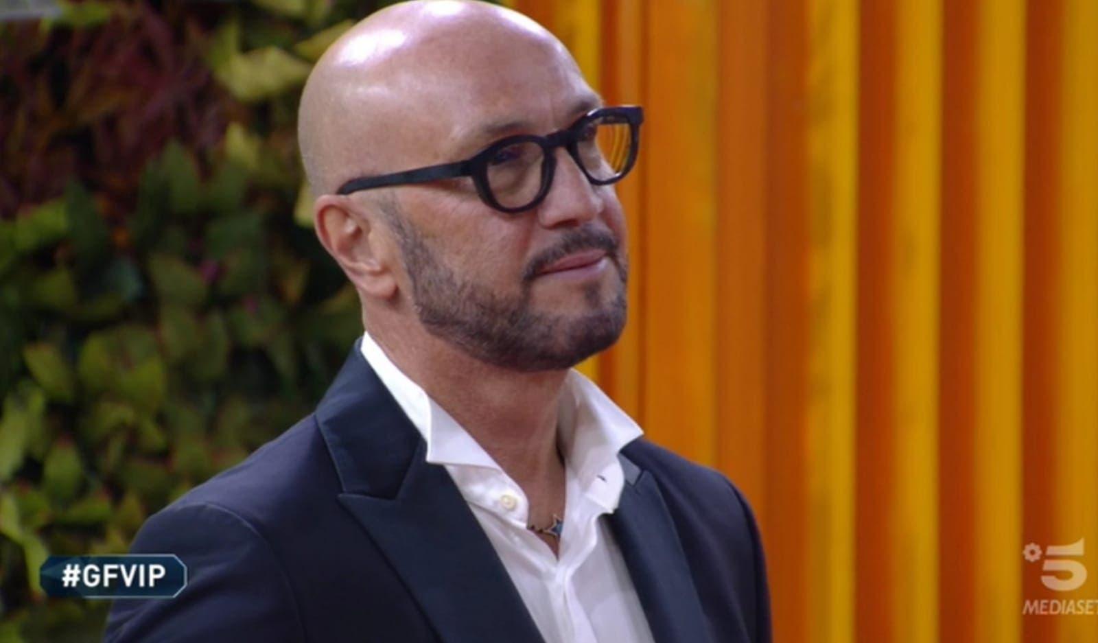 Gf vip, Andrea Zenga furioso contro il padre Walter: