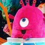 Baby Alieno, Il Cantante Mascherato
