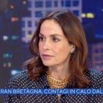 Cristina Parodi a La Vita in Diretta
