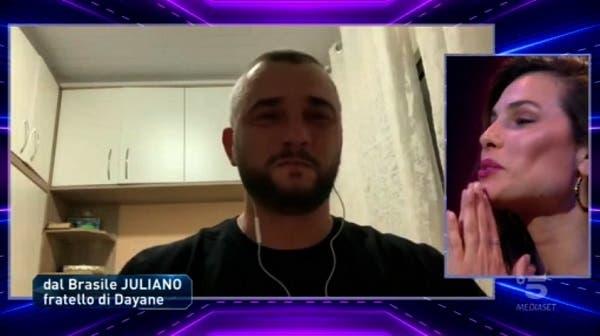 Dayane e il fratello Juliano - GF Vip 5
