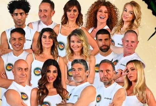 Il cast dell'Isola dei Famosi 2021