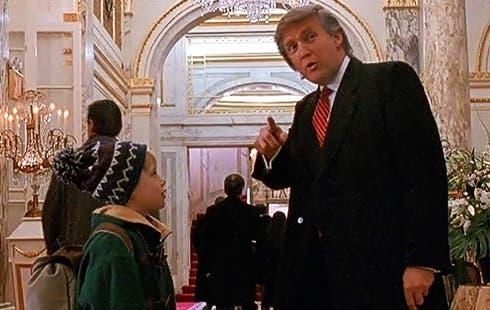 Macaulay Culkin e Doanld Trump in Mamma ho riperso l'aereo, mi sono smarrito a New York