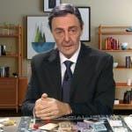 Mario Draghi imitato da Neri Marcorè, diMartedì