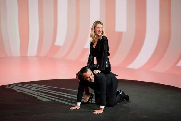 Nicola Savino e Alessia Marcuzzi - Le Iene