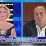 Nicola Zingaretti, Barbara D'Urso