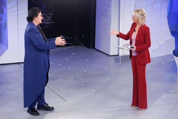 Renato Zero e Maria De Filippi - C'è Posta per Te