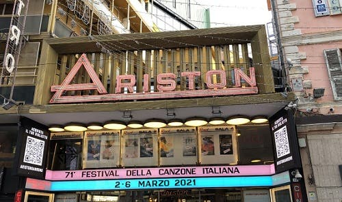 Teatro Ariston - Sanremo 2021
