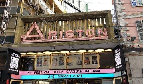 Teatro Ariston - Sanremo 2021