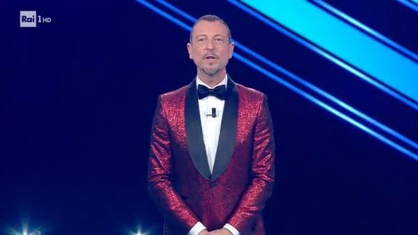 Amadeus - Terza serata Sanremo 2021 (da RaiPlay)