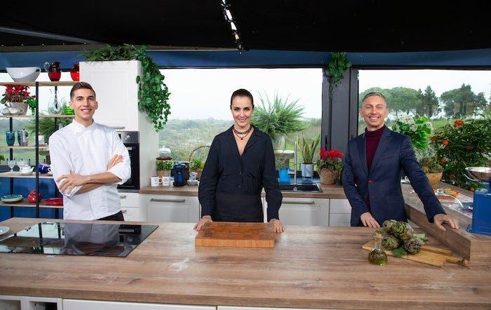 Giacomo Vitali, Roberta Capua e Gianluca Mech