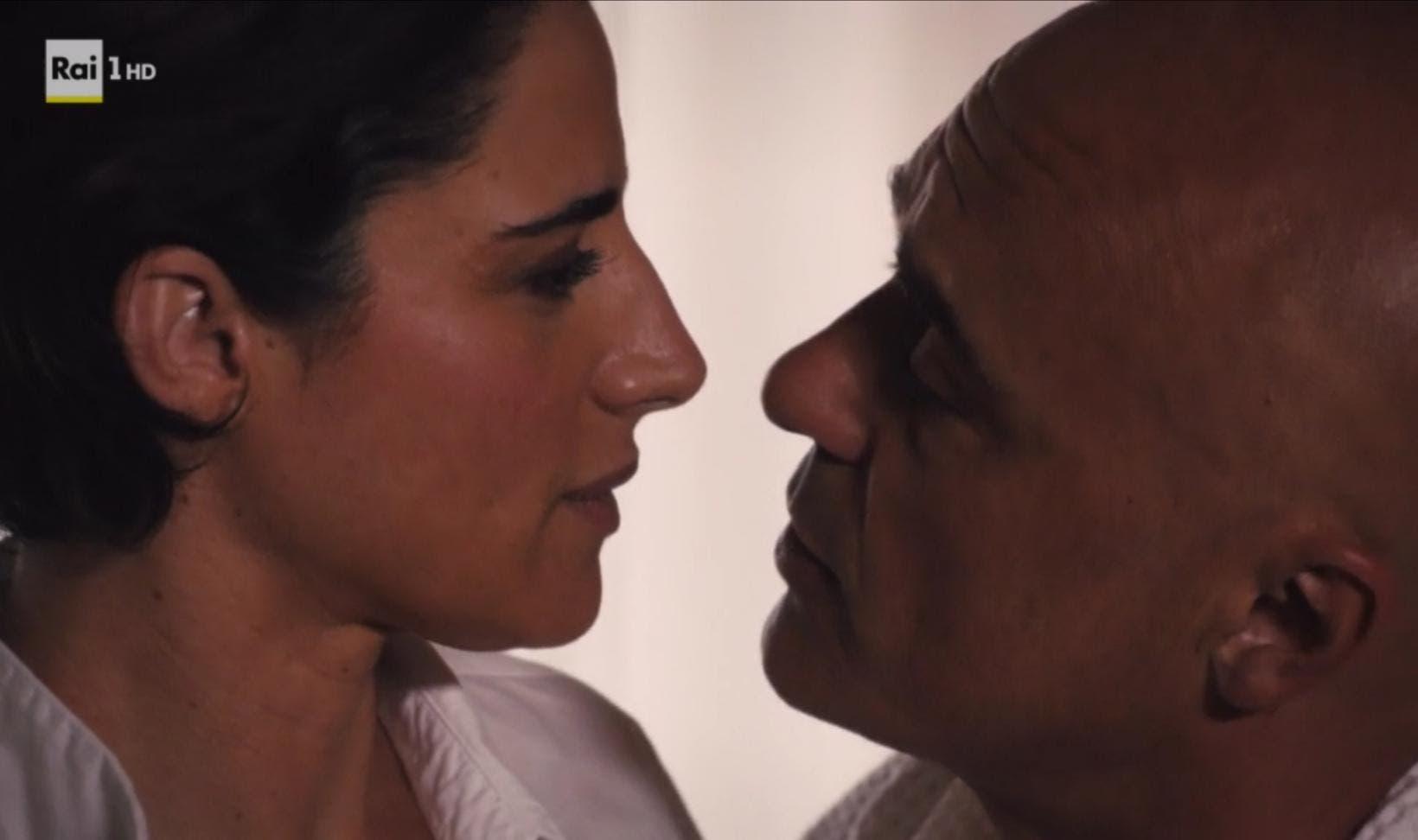 Il Giudice Meschino - Luisa Ranieri e Luca Zingaretti