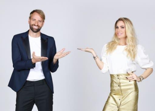 Massimiliano Rosolino e Ilary Blasi