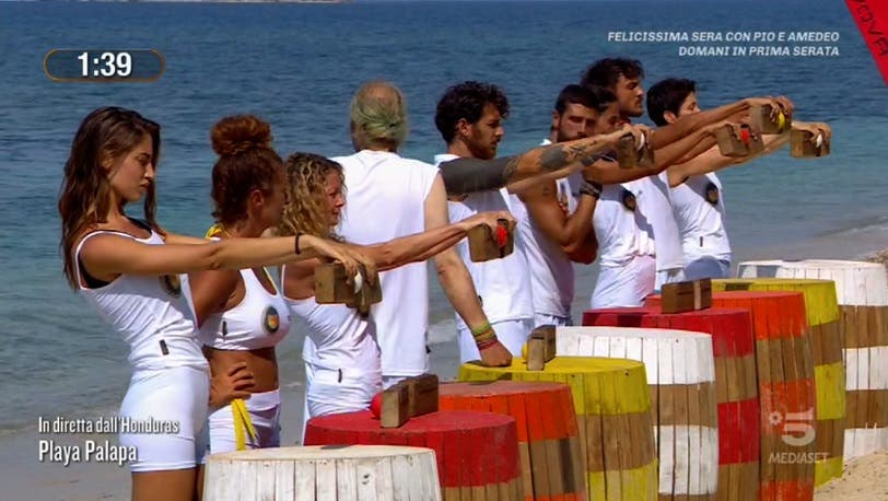 Prova leader salvador - Isola dei Famosi 2021