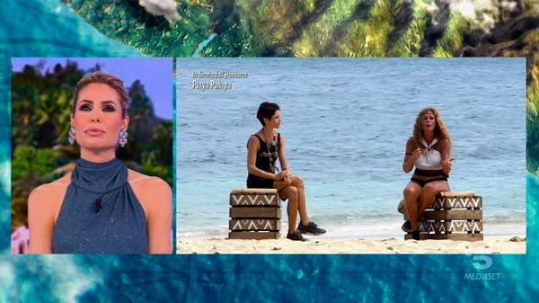 Ilary, Isolde e Valentina - Isola dei Famosi 2021