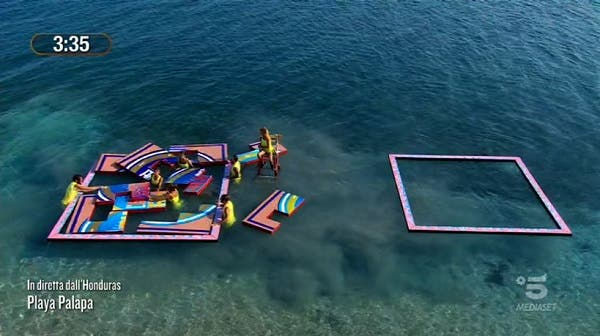 Prova ricompensa - Isola dei Famosi 2021
