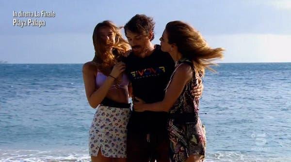 Arianna, Andrea and Daniela - Island of the Famous 2021