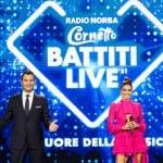 Alan Palmieri ed Elisabetta Gregoraci - Battiti Live 2021
