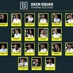 DAZN squad 2021/2022