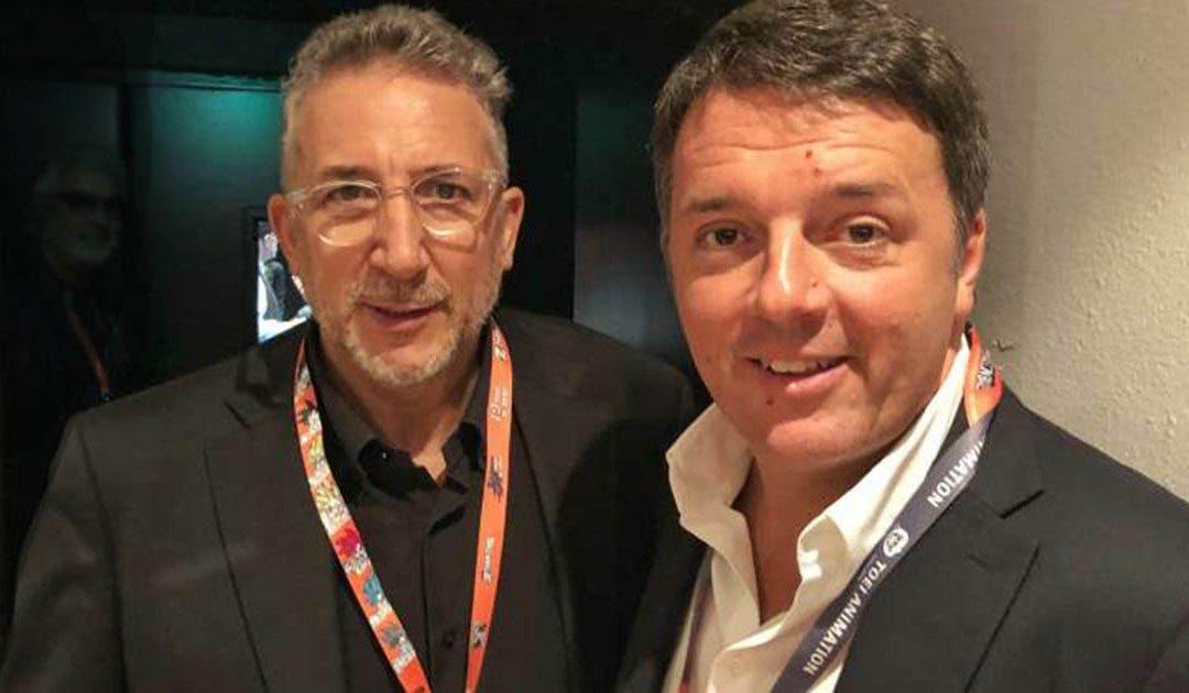 Lucio Presta e Matteo Renzi