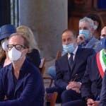 Raffaella Carrà, colleghi in chiesa