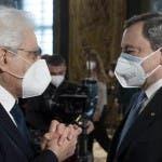 Sergio Mattarella, Mario Draghi (foto - Quirinale)
