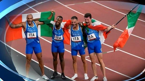 Italia medaglia d'oro nella 4x100 - Olimpiadi Tokyo 2020