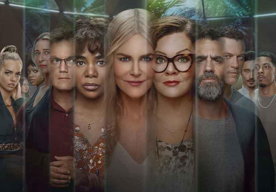 cast nine perfect Strangers