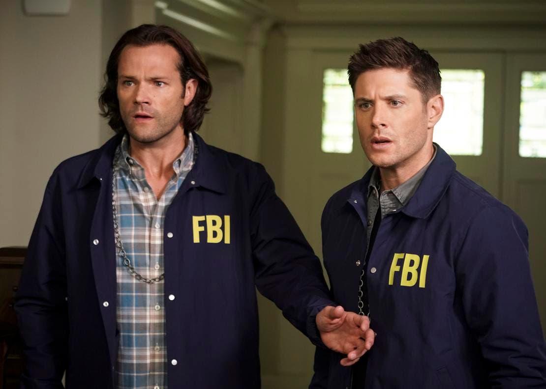 Supernatural 15 - Jared Padalecki  e Jensen Ackles